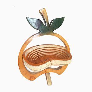 Cesto da frutta a forma di mela di Equinoccio
