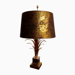 Palm Tree Table Lamp from Maison Charles, 1970s