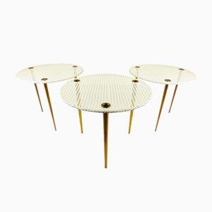 Tables Empilables Model Partroy par Pierre Cruege pour Formes, 1950s
