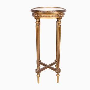 Antique French Marble Plant Stand