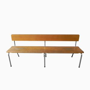 Long Vintage Bench from Tubax, 1960s