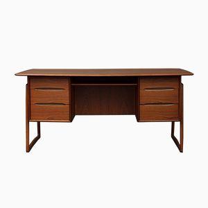 Teak Desk by Svend Aage Madsen, 1950s