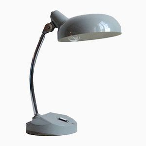 Vintage Light Grey Desk Lamp