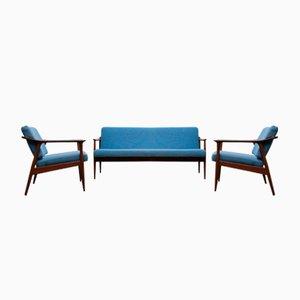 Dänisches Wohnzimmer Set von Torbjørn Afdal für Sandvik Mobler, 1950er