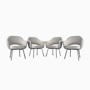 Mid-Century Conference Chairs by Eero Saarinen for Knoll International, 1950s, Set of 4
