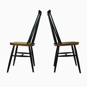 Mid-Century Teak Beistellstühle von Ilmari Tapiovaara für Pastoe, 2er Set