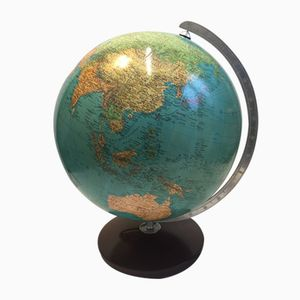 Illuminated Glass Globe by Paol Oestergaard for Duo Columbus