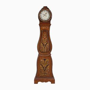 Antike Schwedische Mora Uhr, 1843