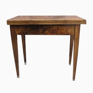 Small Biedermeier Folding Dining Table