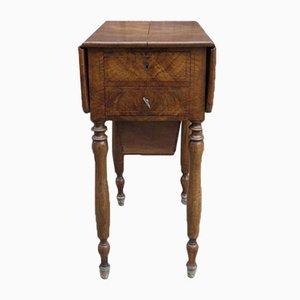 Biedermeier Opening Sewing Table