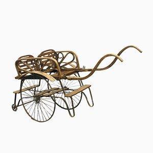 Antique Twin Stroller