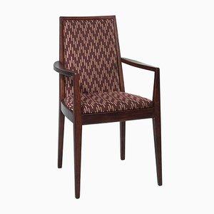 Vintage Brown Armchair from Wiesner-Hager, 1958