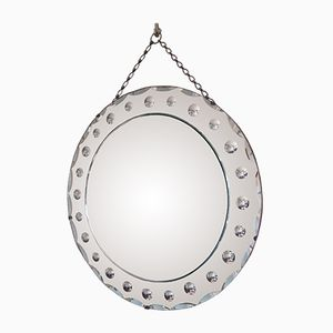 Round Venetian Mirror, 1950s