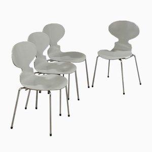 3101 Stühle von Arne Jacobsen für Fritz Hansen, 1988, 4er Set