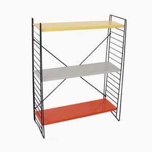 Mid-Century Metal Shelving Unit by A. D. Dekker for Tomado