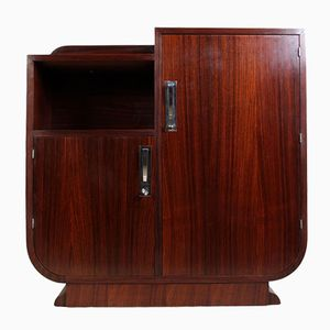 Art Deco Rosewood Side Cabinet, 1930s