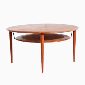 Mid-Century Danish Coffe Table by Peter Hvidt & Orla Mølgaard-Nielsen for France & Søn, 1960s
