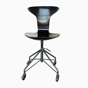 3105 Drehsessel von Arne Jacobsen für Fritz Hansen, 1963