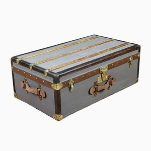 Antique French Travel Trunk from Moynat, 1900