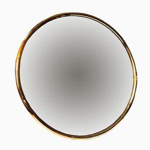 Mid-Century Scandinavian Circular Wall Mirror, 1970s
