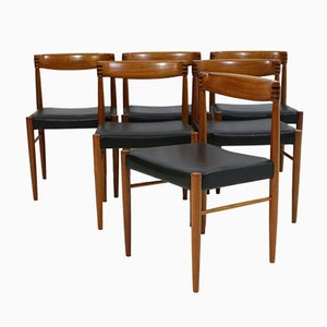 Marvelous Vintage Dining Chairs By H. W. Klein For Bramin, Set Of 6