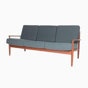 Model 118 Teak Sofa by Grete Jalk for France & Son, 1960s