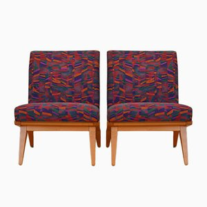 Vintage Model 22 Lounge Chairs by Jens Risom for Knoll, Set of 2