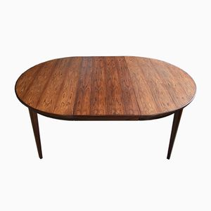 Vintage Model 55 Rosewood Dining Table from Omann Jun Møbelfabrik