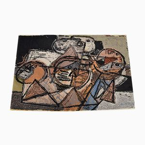 Mid-Century Danish Wool Art Rug by Corneille for Ege Axminster