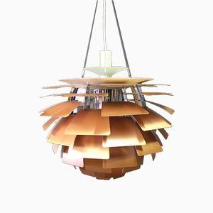 Kupfer Artichoke 60 Lampe von Poul Henningsen für Louis Poulsen, 1980er