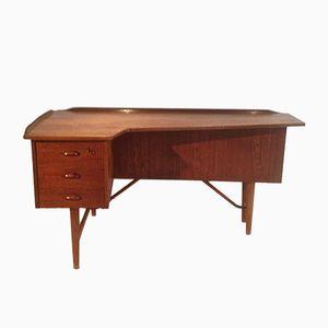 Teak Desk by Peter Løvig Nielsen for Hedensted Møbelfabrik, 1960s