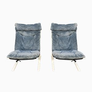 Siesta Chairs by Ingmar Relling for Westnofa, 1972, Set of 2