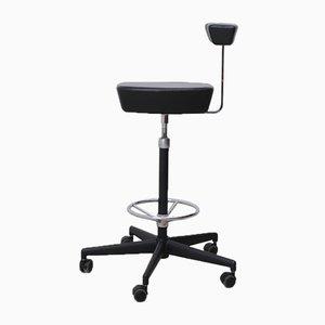 Höhenverstellbarer Mid-Century Stuhl von George Nelson für Vitra
