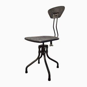 Chaise Vintage Industrielle par Henri Libier pour Flambo