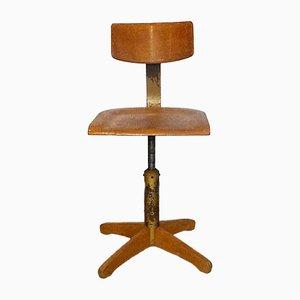 Chaise Industrielle Model 350 par Ama Elastic, 1950s