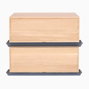 Stack Storage Two-Tier Wood Drawers from Debra Folz Design