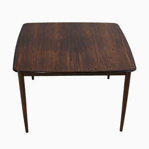Vintage Rosewood Extendable Dining Table by Henry Rosengren Hansen for Brande Møbelindustri