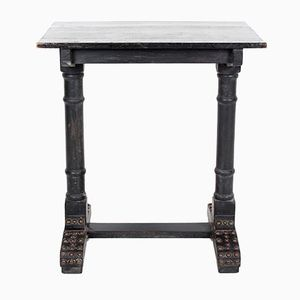 Antique Victorian Ebonised Console Table