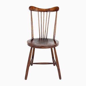 Chaise d'Appoint Antique Arts & Crafts en Acajou