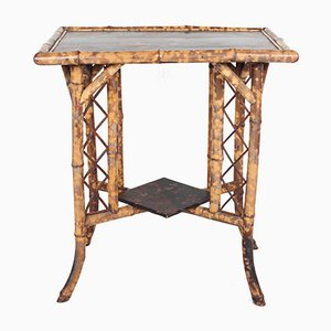 Antique Chinese Bamboo Table