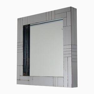 Spiegel mit Chrom Rahmen von Paul Evans für Directional, 1970er