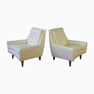 Mid-Century Lounge Chairs, 1950s, Set of 2