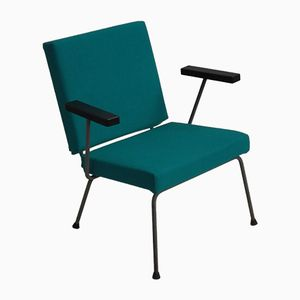 Vintage Model 1407 Lounge Chair by Wim Rietveld for Gispen