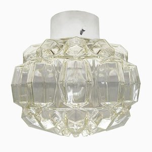 Large Vintage Geometric Wall Sconce from Limburg