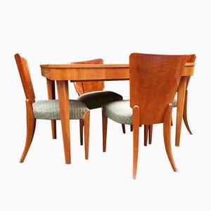 Set de Table Model H-214 Art Déco par Jindrich Halabala
