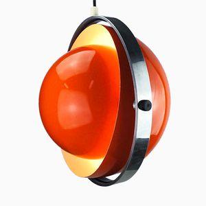 Lampe à Suspension Moonlight Mid-Century par Brylle & Jacobsen pour Quality System, Danemark, 1963