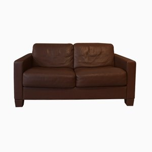 Vintage Swiss DS-17 Sofa in Brown Leather from de Sede