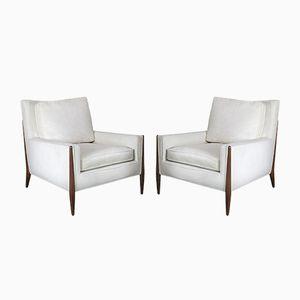 Skulpturale Vintage Sessel, 2er Set