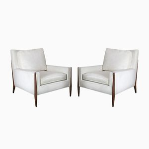 Vintage Sculptural Lounge Chairs, Set of 2