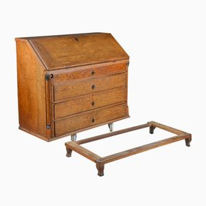 Antique Secretaire in Oak, 18th Century